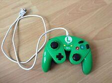 Hori Luigi Smash Bros Battle Pad Controller pour Nintendo Wii U/Wii