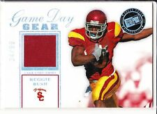 Reggie Bush 2006 Press Pass USC Game-used Red Jersey Patch Game Day Gear#34/99