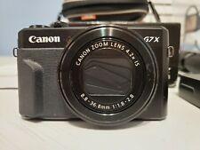 Canon Powershot G7x Mark II Camera (Used)