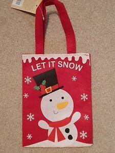 Xmas Gift Bags - Snowman