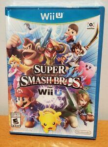 Super Smash Bros. WII U - Brand New / Sealed