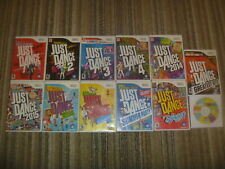 Just Dance 1 2 3 4 2014 2015 Kids Summer Party Disney Greatest Wii 12 Game Set