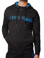 Hugo Boss домашняя одежда куртка с капюшоном в хлопок махровые с геометрическим узором