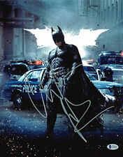 Christian Bale Batman The Dark Knight Authentic Signed 11x14 Photo BAS 1
