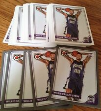WILLIE CAULEY-STEIN 2015-16 ROOKIE INVESTMENT LOT (50) COMPLETE SILVER PARALLEL