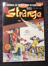 1970 STRANGE #117 VF French Comic Book Iron Man Spider-Man Lug