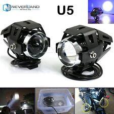 2pcs Motorcycle  U5 125W LED Spot Drive Fog Head Light For BMW KTM Universal
