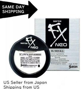 Santen SANTE FX NEO Cool Redness Japanese Eye Drops SUPER COMFORT -exp :10 /2022