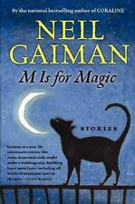 M Is for Magic by Neil Gaiman (2007, Hardcover)