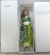 "TONNER  22"" INCH DC COMICS POISON IVY AMERICAN MODEL DOLL SIZE SUPER HERO NRFB"