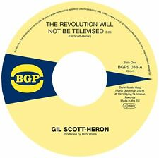 GIL SCOTT-HERON - THE REVOLUTION WILL NOT BE TELEVISED  - BGPS 038