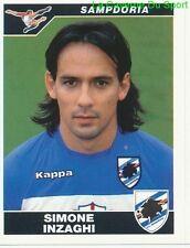 SIMONE INZAGHI ITALIA SAMPDORIA RARE UPDATE STICKER CALCIATORI 2005 PANINI