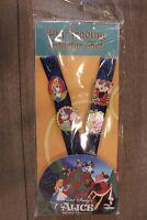 Disney Parks Alice in Wonderland Lanyard 4-Pin Booster Starter Set (NEW/SEALED)