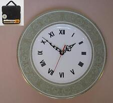"Royal Doulton ""English Renaissance"" 10.75"" Wall Hanging Plate CLOCK"
