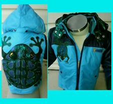 T - JACK BLUE MULTIFUNCTIONAL /CONVERTIBLE BOYS COAT PILLOW BAG Medium  3/4 $94