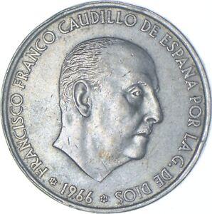 Better Date - 1966 Spain 100 Pesetas - SILVER *569