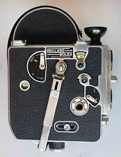 * BOLEX H16 camera - smooth running - single framing - Trifocal viewfinder NICE!