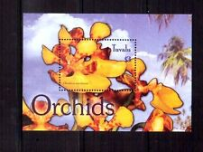 TUVALU $3 orchid min sheet MUH