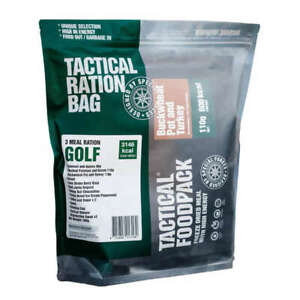 Tactical Foodpack Food Ration Golf (3 Meals) Freeze-Dried 1-Day Trip