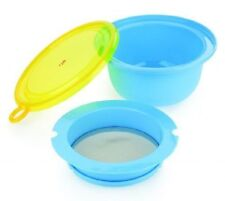 Shake and Sieve - Tala - Sieving bowl with lid - No Mess -  New & Packaged