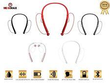 Wireless Bluetooth Neckband Headphone Headset Earphone Sweat-Proof  5-Colors 12M