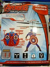 Marvel Captain America 2 channel Flying Figure Infrared Helicopter