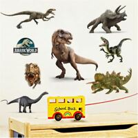 Wall Stickers Dinosaur large Jurassic World T- Rex kids boy decal decor Nursery