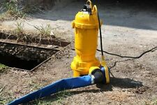 Pro Dirt and Dirty Water Pump, Cellar Pump out Submersible Pump With Chipper XXL