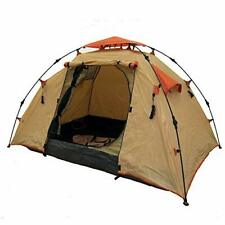 Genji Sports Instant Camping Tent (3 Person), Large, Light Brown