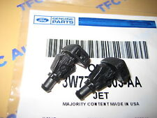 Ford F150 Windshield Wiper Washer Fluid Jet Nozzle Set of 2  NEW OEM 2004-2014
