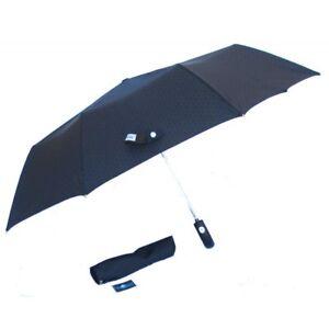 Umbrella Grey Blue Pocket Short Foldable Pocket - PERLETTI