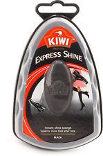 Kiwi Express Shine Shoe Polish Instant Shine Sponge 7ml Black
