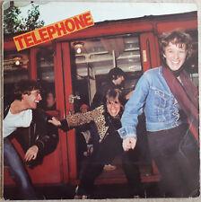 33T TELEPHONE Aubert Bertignac Vinyle LP ANNA - METRO - HYGIAPHONE - EMI 14506