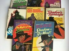 Eight US Shadow paperbacks - reading copies all different titles ! Some Steranko