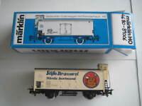 Marklin H0 4680-89006 Stifts-Brauerei Horde Dortmund wagon w/ brakeman's cab LN