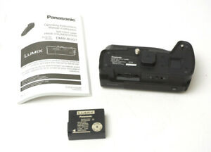 Panasonic Battery Grip DMW-BGG1 w/ BLC12PP Battery Used Excellent Condition