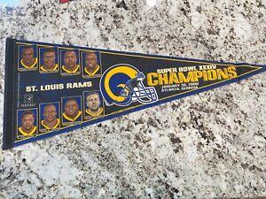 St. Louis Rams 2000 Super Bowl flag