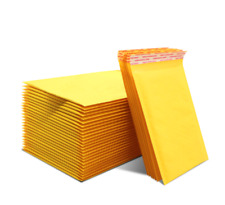 Kraft Bubble Mailers Bags Mailer Padded Envelope Shipping Bags Self Seal