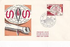 Monaco 1962 3rd International Blood Donors Congeress FDC VGC