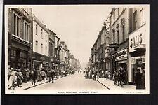 Bishop Auckland - Newgate Street - real photographic postcard