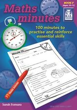RIC Publications ~ MATHS MINUTES ~ Book F Age 10-11 Years