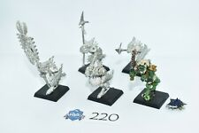 5 Saurus Guard/Temple Guard, metal, lizardmen, seraphon, warhammer