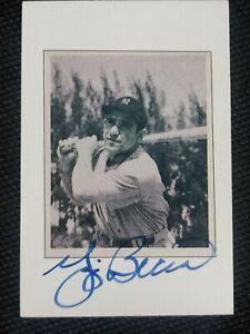 ⚾⚾ 1989 Bowman Autographed Yogi Berra 🖊⚾⚾