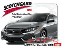 2017-2019 Honda Civic Si 3M Pro Series Clear Bra Bumper Paint Protection Kit