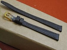 11mm time Fashion genuine hd leather made in Germany watch band fits Seiko