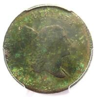 1797 Liberty Cap Flowing Hair Half Cent 1/2C - PCGS VF Detail - Rare Coin!