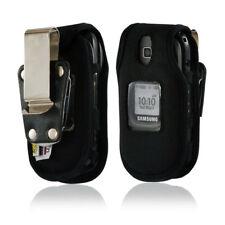 Turtleback Samsung U365 Gusto 2 Flip Phone Case Black Nylon Metal Belt Clip