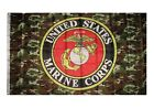 3' X 5' US/U.S./USMC AMERICAN CAMO MARINE CORPS FLAG 3X5 100D