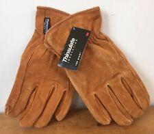 Thinsulate Insulation 100 Gram Split Cowhide Leather Winter Work Safe Gloves  M