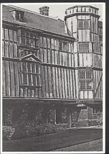 Cambridgeshire Postcard - Queen's College, Cambridge, ECF Illustrations  B3016